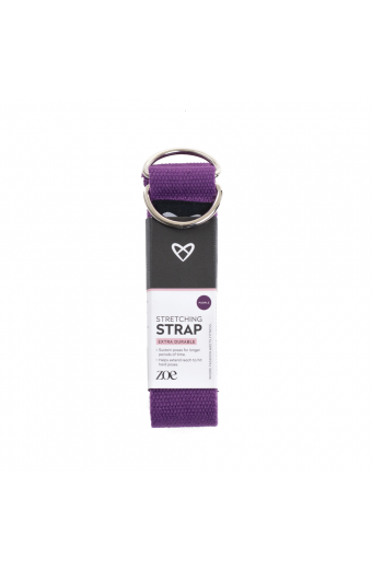 My Workout Stretching Strap Purple