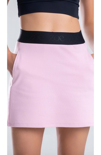 ESSENTIALS MINI SKIRT ROSE