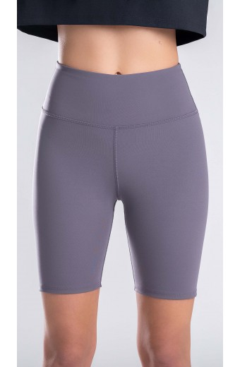 ESSENTIALS SHORT LEGGINGS PURPLE MIST