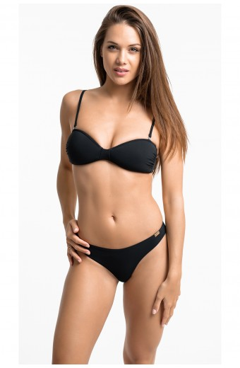 WILDCAT SWIM BRA, BLACK