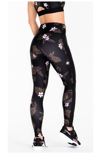 TROPICAL VIBE LEGGINGS, PINK