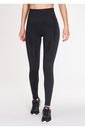 REVIVE SEAMLESS LEGGINGS, BLACK