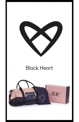 BLACK HEART GIFT BOX