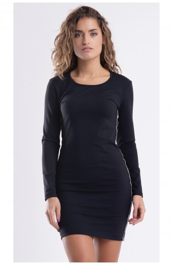 AMELIE DRESS, BLACK