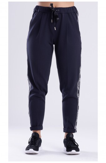 FASHION TRACK PANTS, NAVY