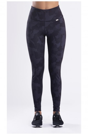 LE CAMOUFLAGE LEGGINGS, BLACK