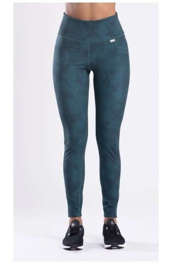 LE CAMOUFLAGE LEGGINGS, GREEN