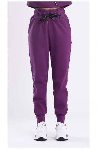 MY STRIPES SWEATPANTS, PURPLE