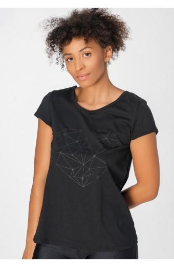 MAIA T-SHIRT, BLACK