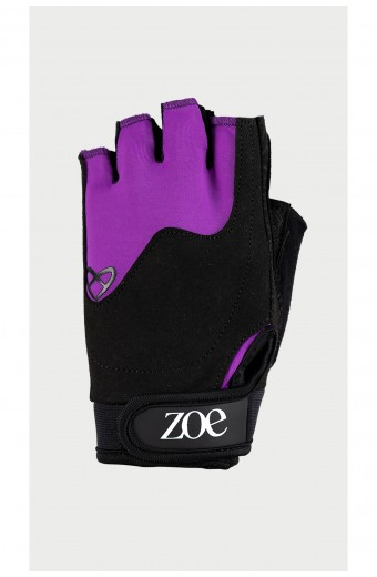 Zoe Essentials Fitness Gloves, Purple