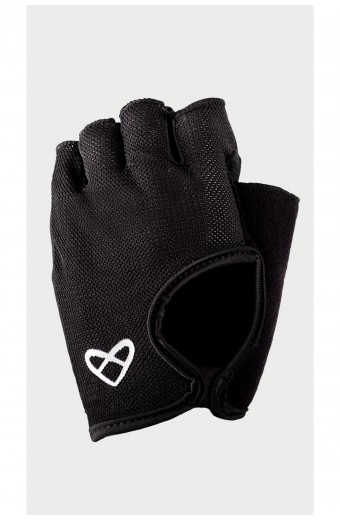 Zoe Fly Fitness Gloves, Black
