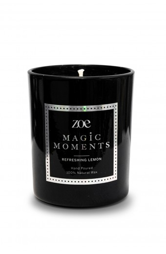 Zoe Magic Moments  Candle, Refreshing Lemon