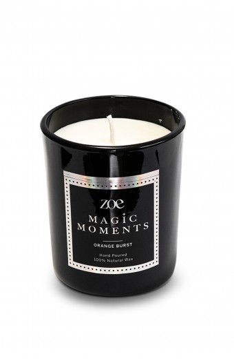 Zoe Magic Moments Candle, Orange