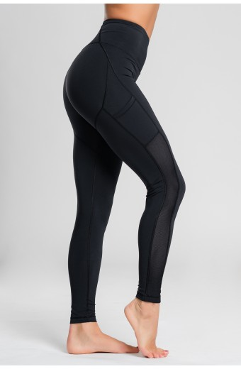 ECLIPSE LEGGINGS, BLACK