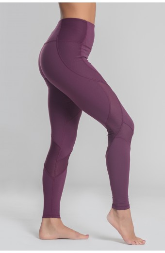 PRIME LEGGINGS, PLUM