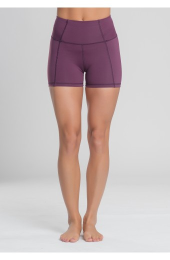 ECLIPSE SHORTS, PLUM