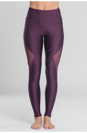 INSTINCT LEGGINGS, PLUM