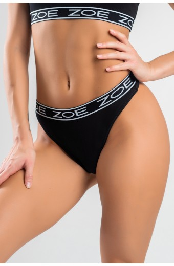 LUSCIOUS THONG, BLACK